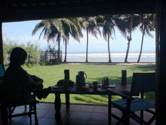 Sea view from Rumah Joglo Sambolo
