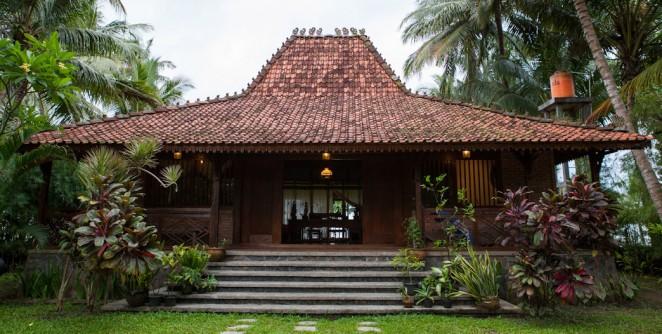 Desain Rumah Joglo Jawa Tengah